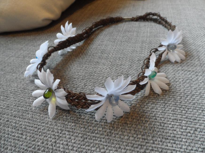 Diy flowerheadband